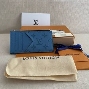 💯 Louis Vuitton Taigarama Coin Card Holder